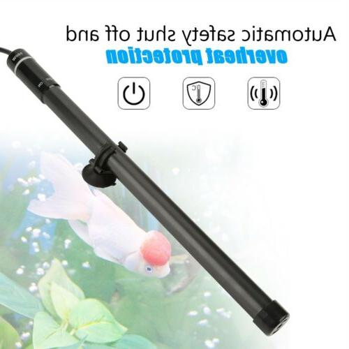 100/300/500W LED Aquarium Submersible Water Heater Tank