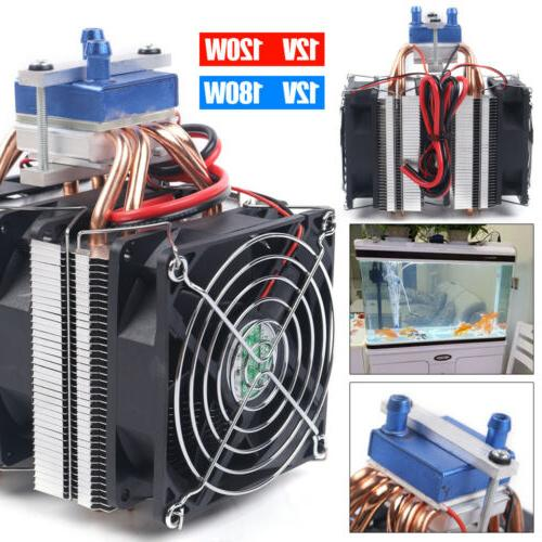 12V Water Chiller DIY Cooling System for Tank