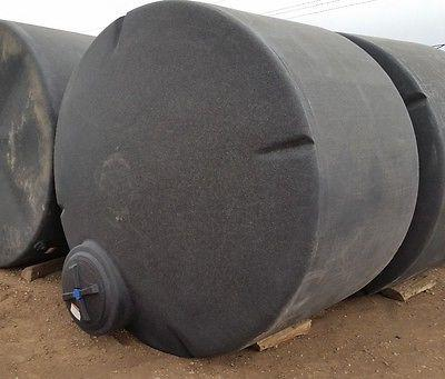 1550 gallon poly water only storage tank