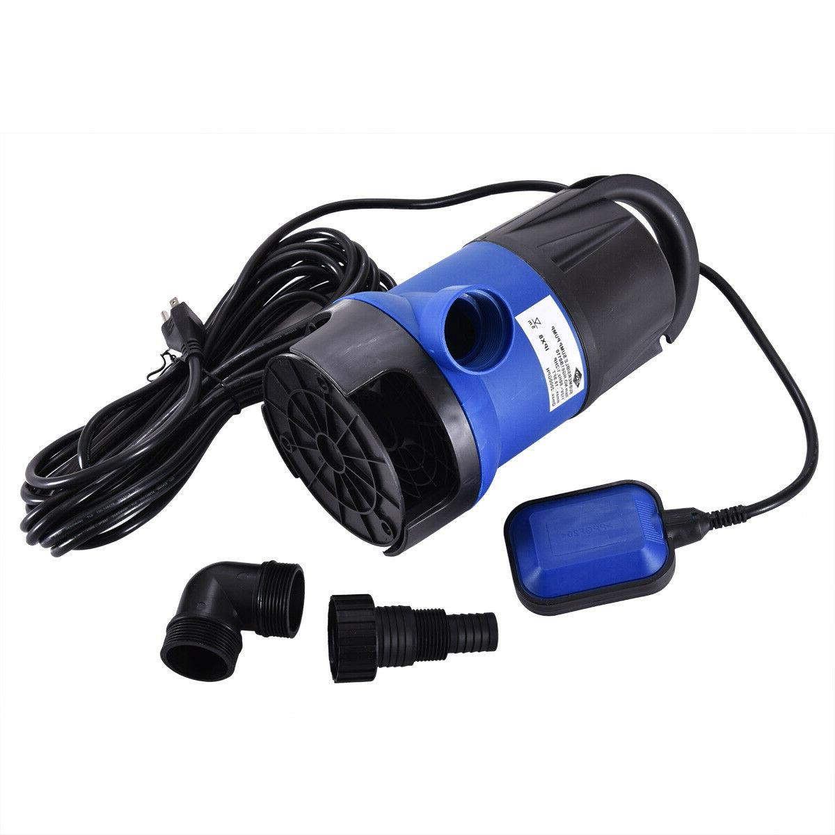 2000 Submersible Dirty Water Swimming Pool Pond Flood Drain