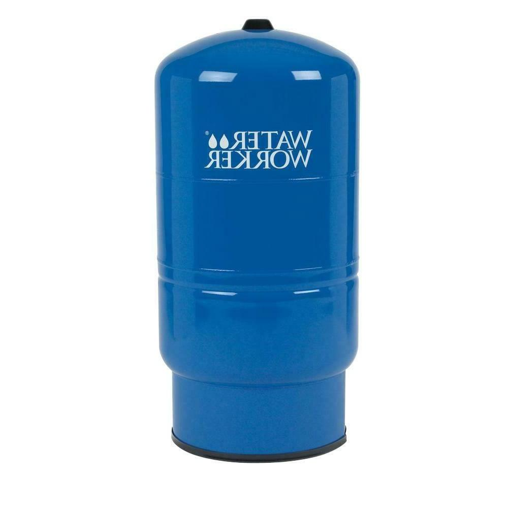 26 Gal. Pressurized Well Tank | Water Worker Steel Vertical