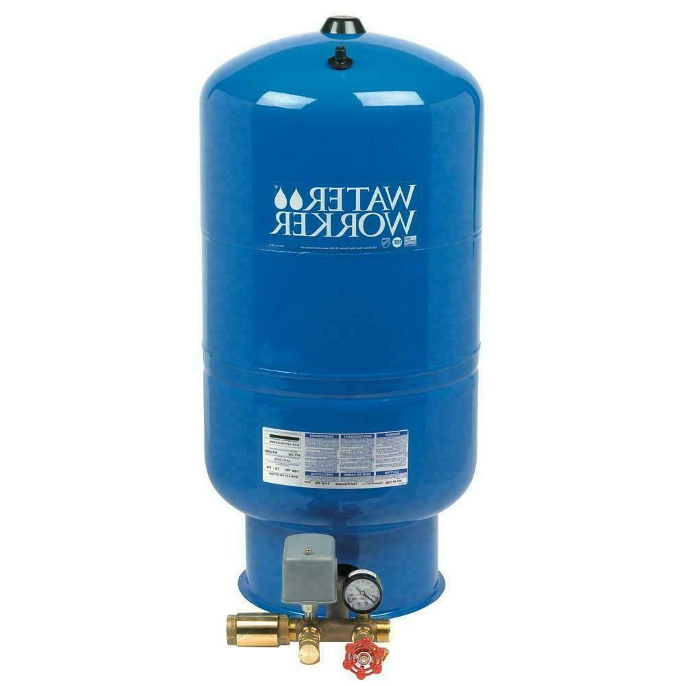 26 gal pressurized well tank steel vertical