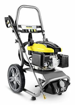 2900 psi gas pressure washer water cleaner