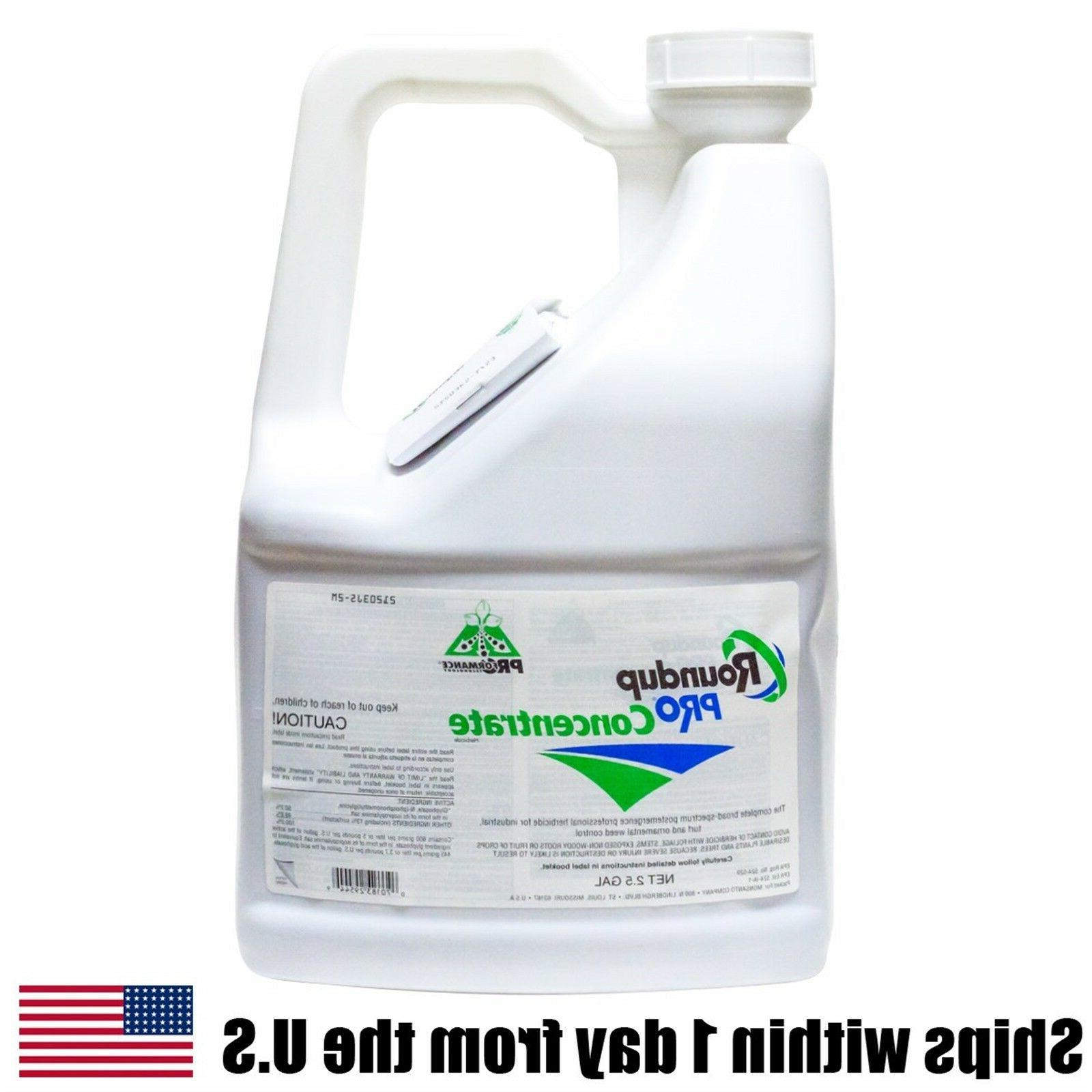 Roundup Pro Concentrate 2.5 Gals Glyphosate 50.2% Herbicide