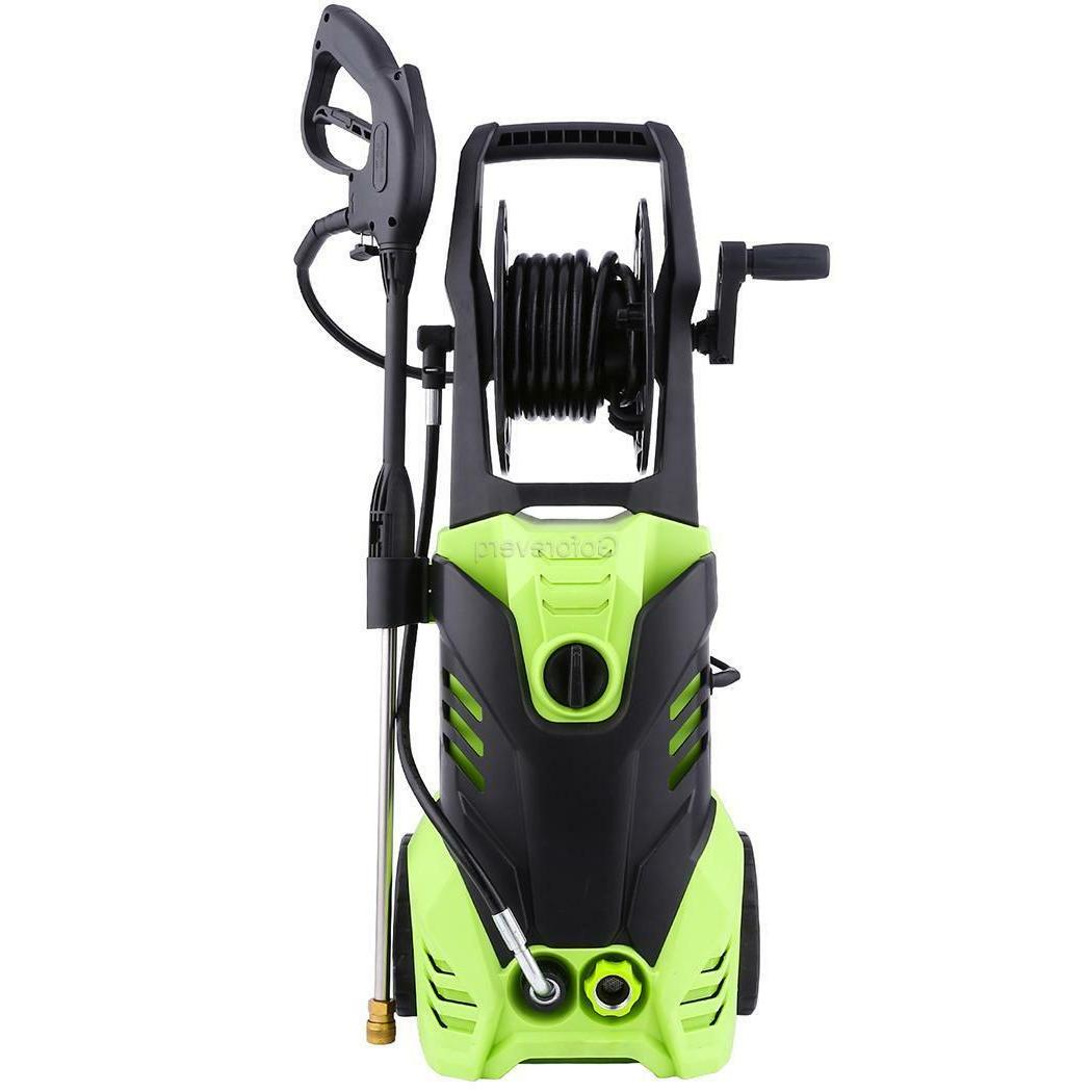 3000 PSI 2.0 Power Water Electric Pressure Washer w/ Detergent