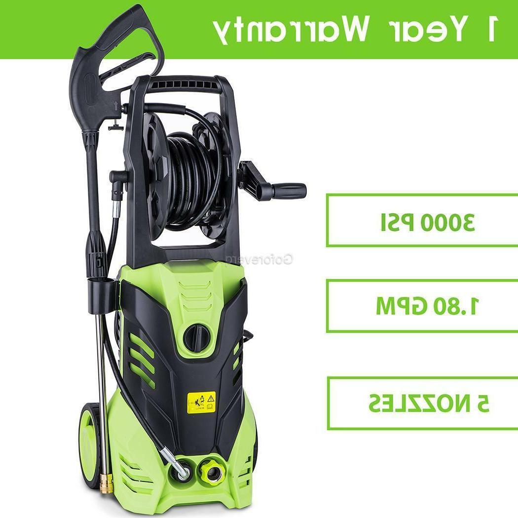 3000 PSI 2.0 Power Water Electric Detergent
