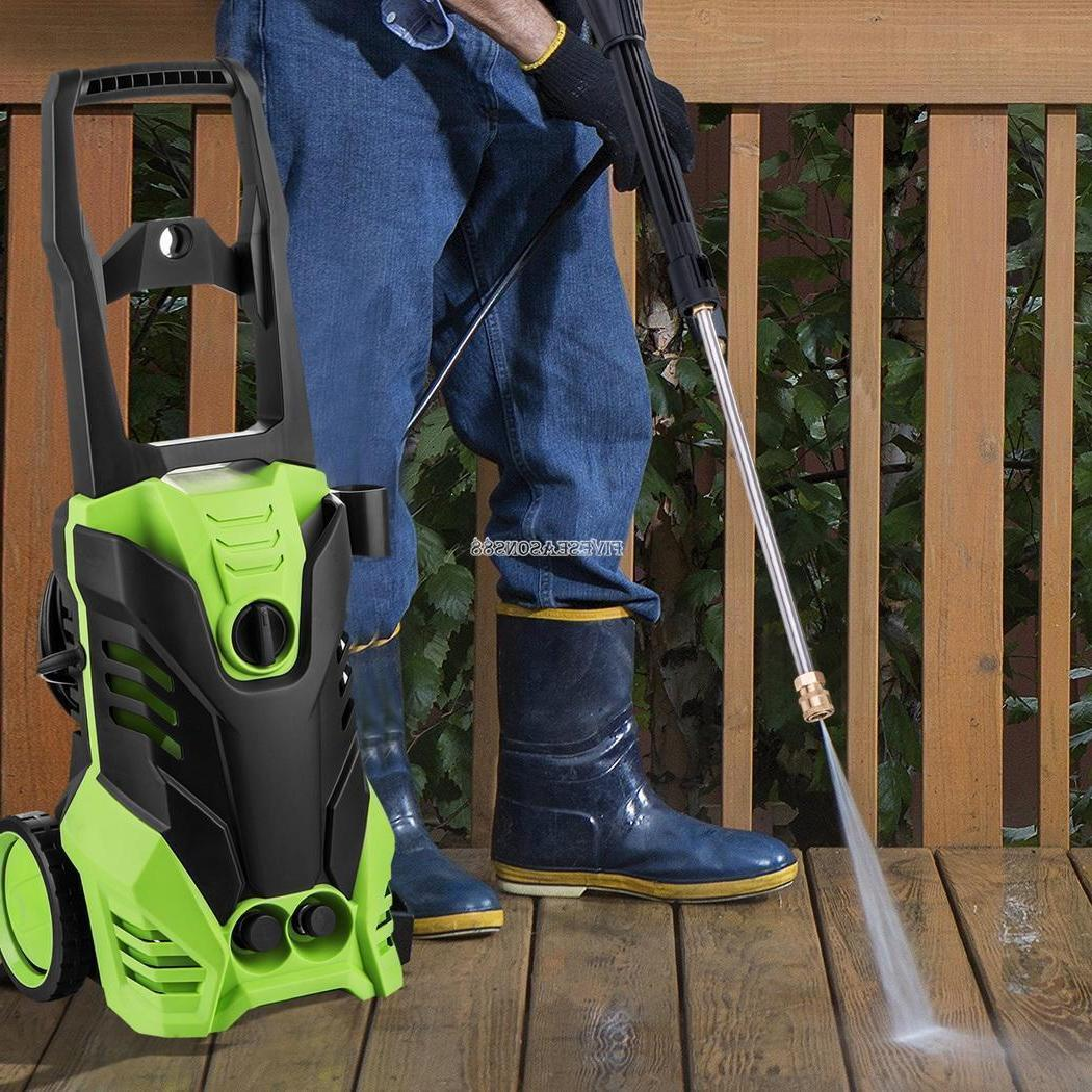 3000PSI PRESSURE WASHER 1.8GPM WATER CLEANER