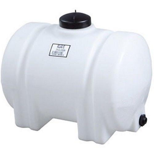 35 gallon horizontal plastic water storage container
