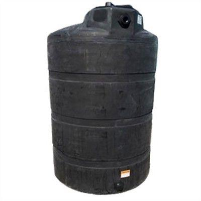 500 gallon black vertical rain water harvesting