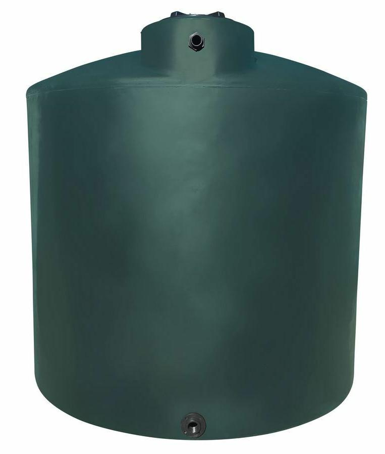 5000 gallon vertical plastic water storage tank