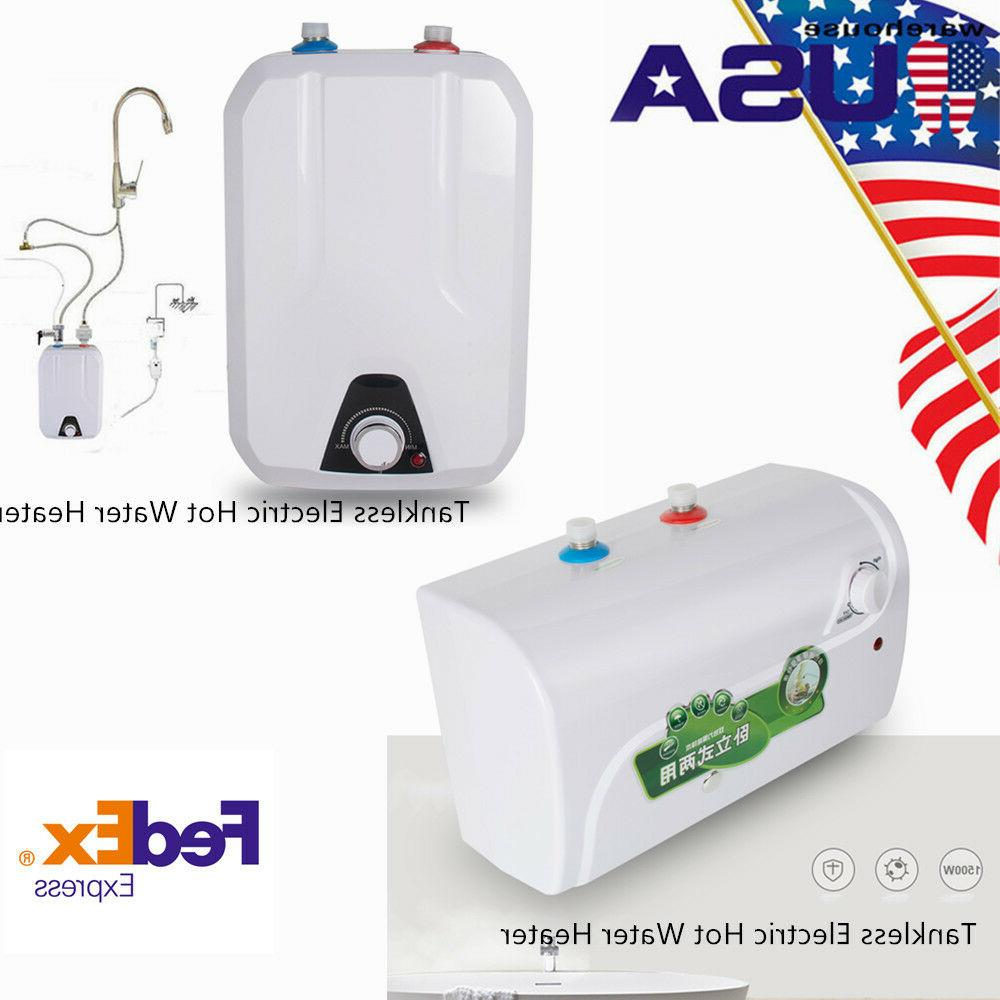 tankless tank hot water heater electric house
