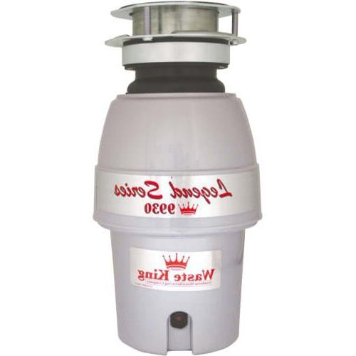 Waste King 9930 Continuous Feed Garbage Disposal, 1/2 HP