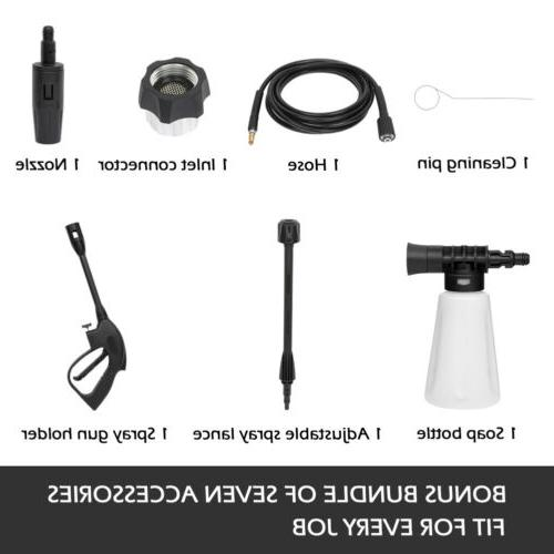 Water Electric Pressure Kit 1860 GPM Hose Detergent Tank