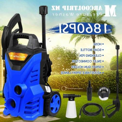 Water Electric Pressure Washer Kit 1860 PSI 2.0 GPM Power w/