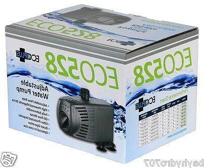 EcoPlus® Adjustable Flow Water Pumps --> SAVE $$ W/ BAY HYDRO