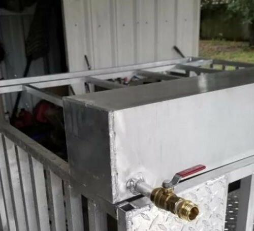 Aluminum Water Dog Box Trailer Camping Size Made