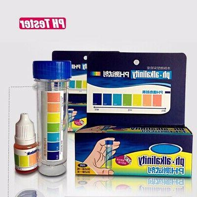 Aquarium Fish PH NO2 NO3 Chlorine Quality Test Kit