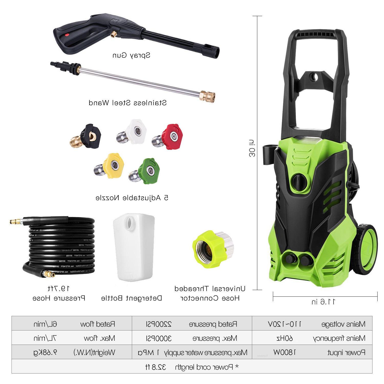 cheap high power electric pressure washer water