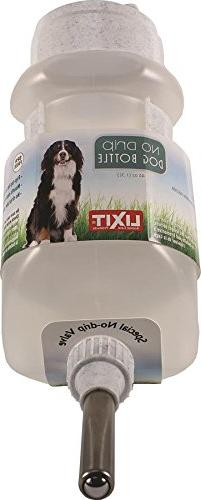 Lixit Corporation DW-44 No Drip Dog Top-Fill Water Bottle, 4