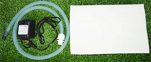 INTBUYING Double Side 8 Pipe Hydroponic 70 Plant Site Planting Equipment