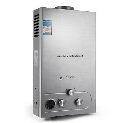 18L NATURAL WATER HEATER ON HEATER