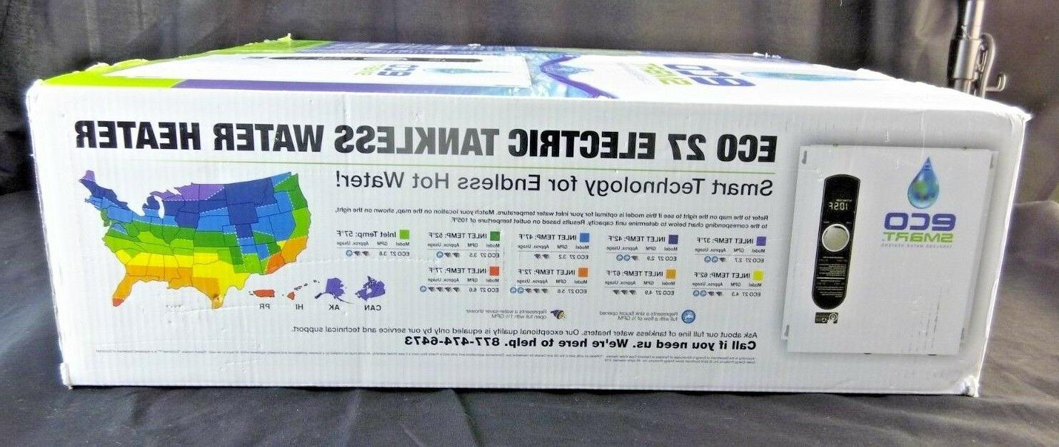 EcoSmart ECO Tankless Heater, KW 240 Volts, 112.5