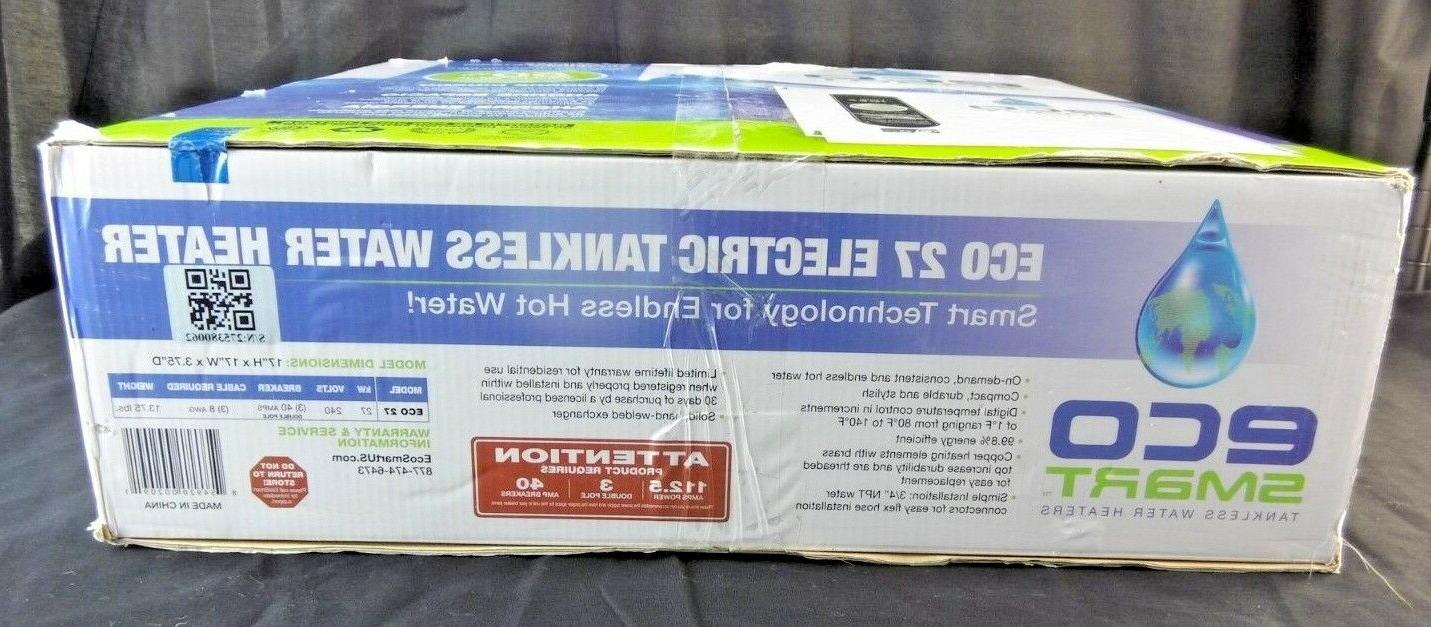 EcoSmart Electric Tankless Water KW 240 112.5