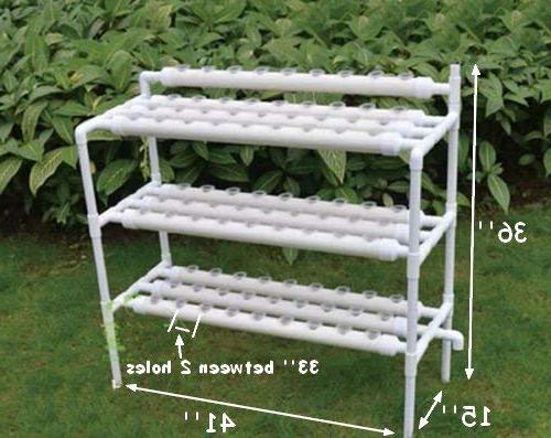 INTBUYING Grow Hydroponic Leafy 3 Layers Sites