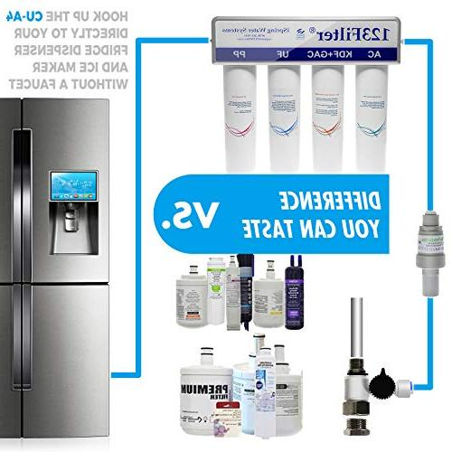 iSpring High Filter Refrigerator Removes Bacteria, Arsenic and much more