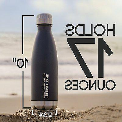 Thermo Tank Steel Ice Cold Hours! 17 Ounce