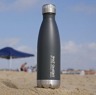 Thermo Insulated Steel Bottle Ice Hours!