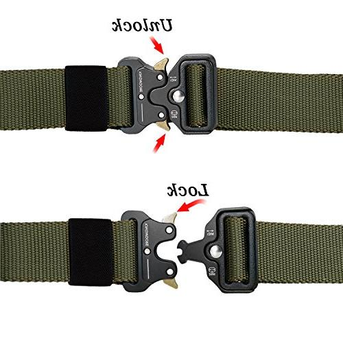 KingMoore Heavy Adjustable Military Belts with