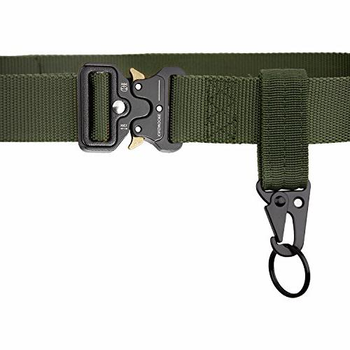 Heavy Webbing Adjustable Military Belts with