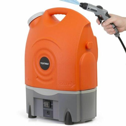 Ivation Multipurpose Spray Washer w/Water Runs Built-In 12v Plug Integrated
