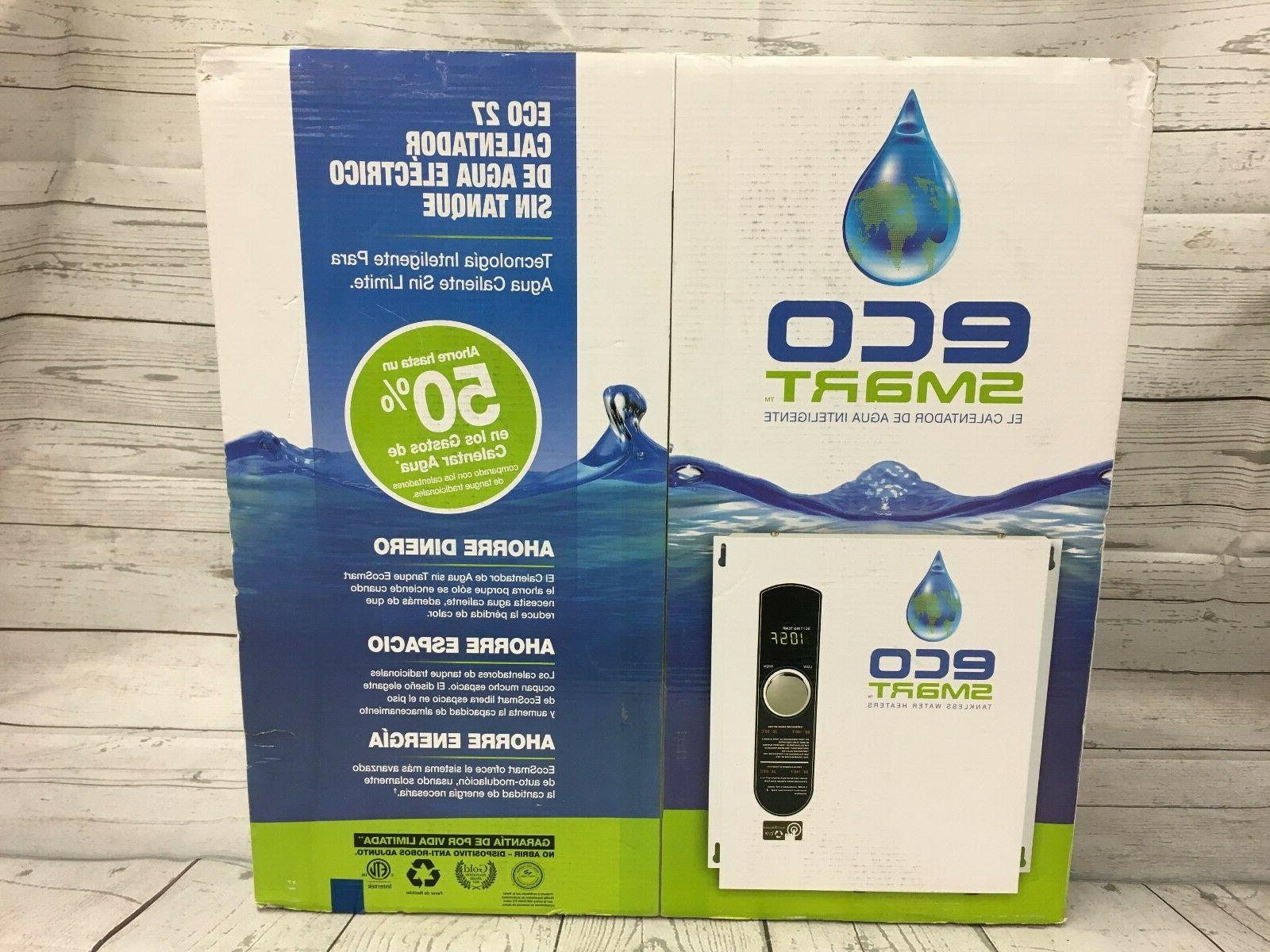 NEW, ECO SMART ECO 27 TANKLESS HEATER-