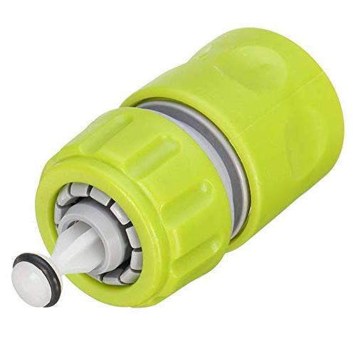 OKIl Plastic Tap Quick Coupler with Water Stop Green