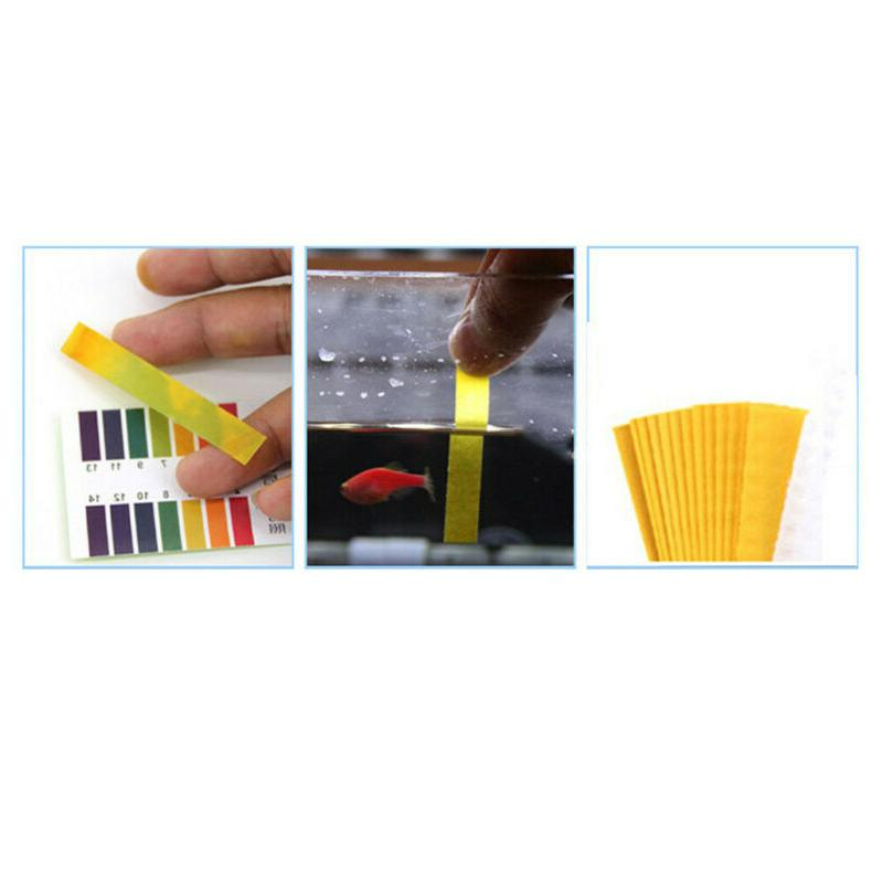 PH Tester Tropical Cold Water Fish Testing TEST STRIPS