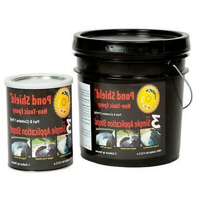 pond shield non toxic epoxy pond liner