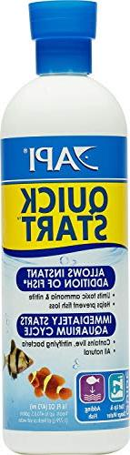 API Quick Start Aquarium Water Conditioner, 16 Ounce, 12 Pac