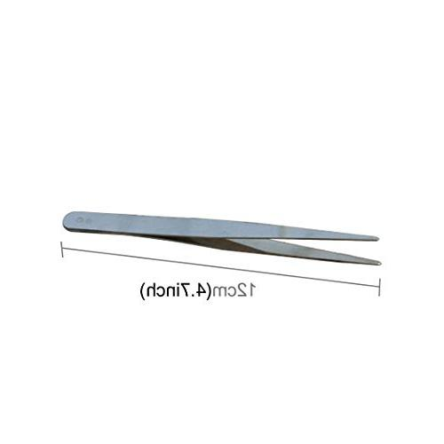 Dig dog bone Stainless Straight Tool Aquarium Marine Tweezers