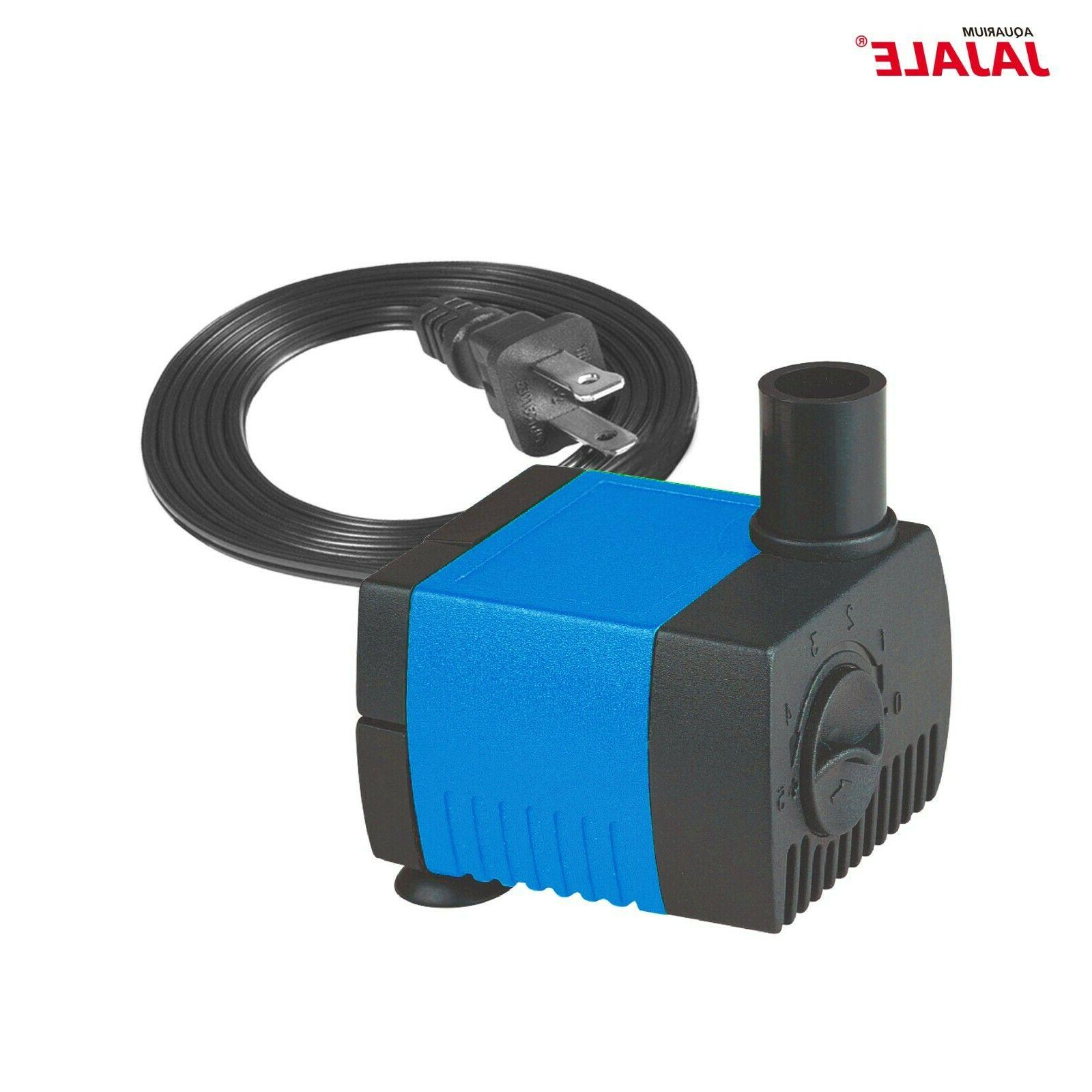 90-1450 Aquarium Tank Fountain Submersible Pump