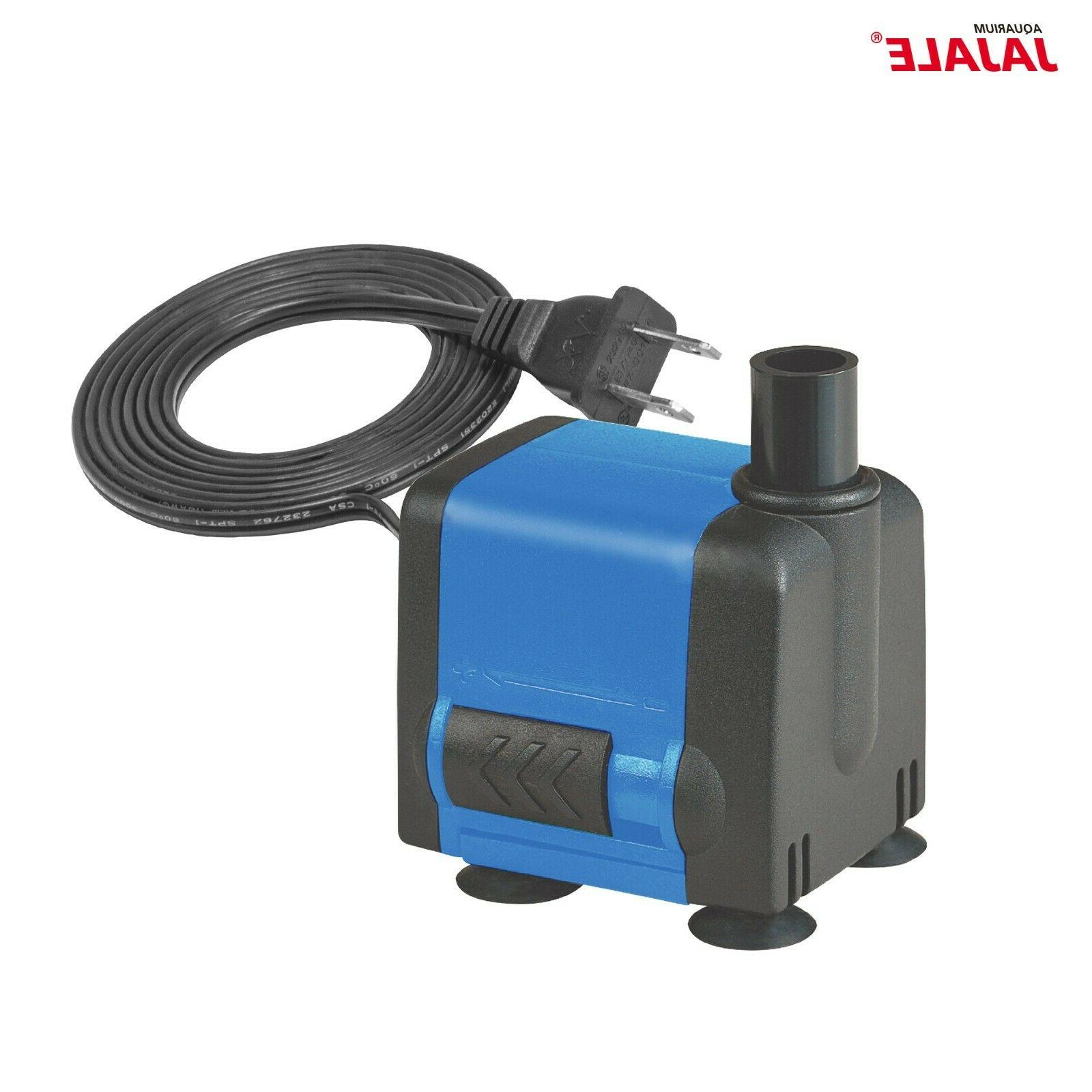 90-1450 GPH Fish Tank Fountain Water Pump