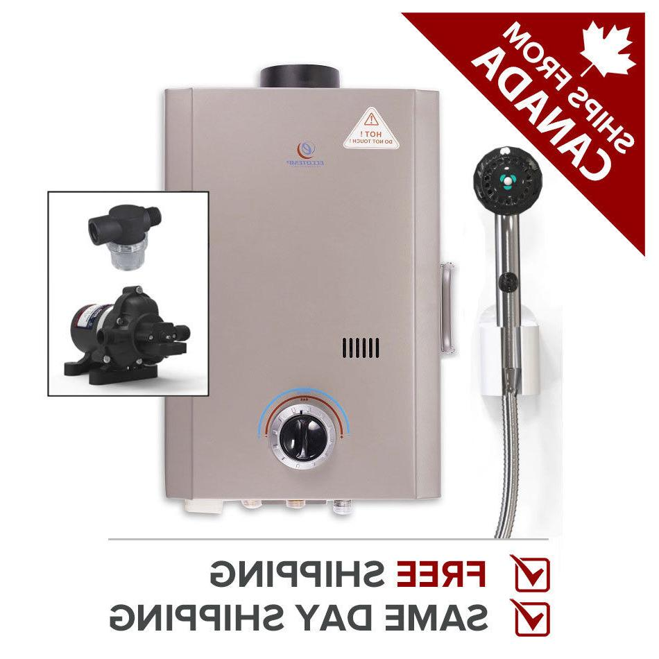 tankless water heater propane portable l7 w
