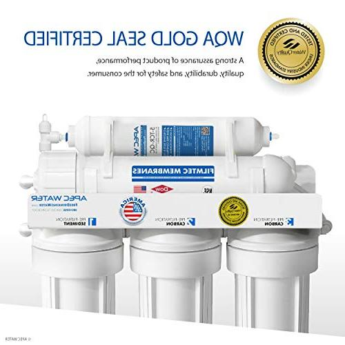 APEC Tier Certified GPD Safe Osmosis Water Filter System