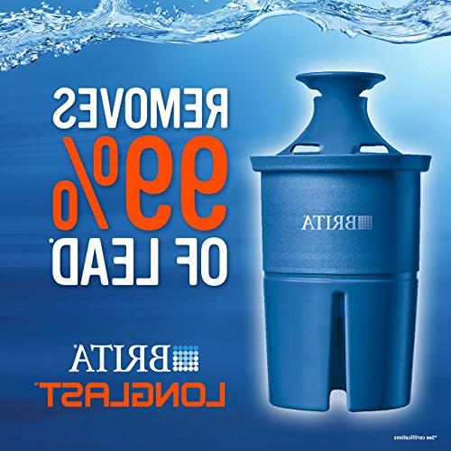 Brita Cup with 1 Longlast Filter, Reduces Lead, – Ultramax,