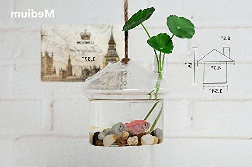 NewDreamWorld's Mushroom Style Aquarium Living/Mini Decoration/Office Desk
