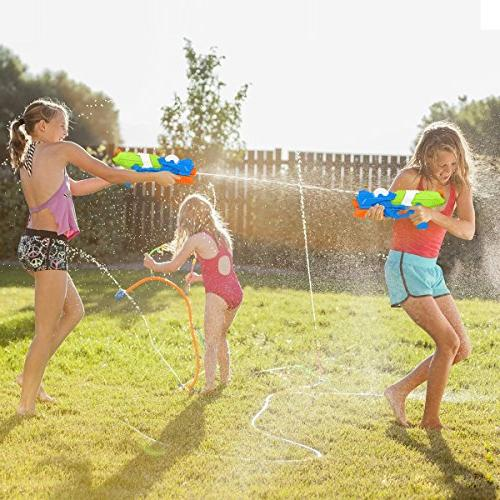 Young Choi's Kids Water Gun Sand 2 Pack Water Large Water Blaster All Kids