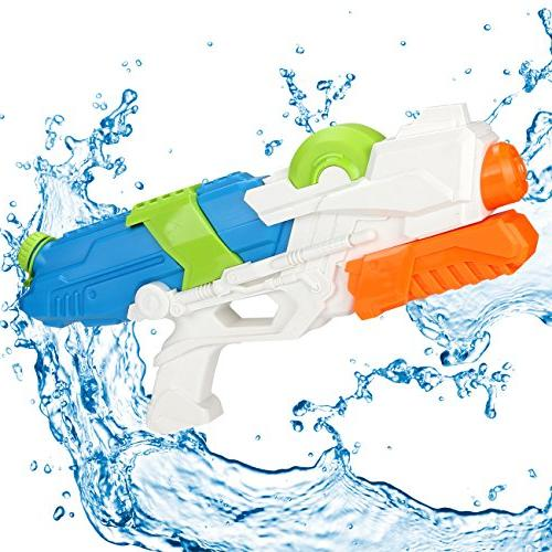 Young Choi's Gun Beach Sand 2 Pack Water Gun Large Size Soaker Blaster for All Kids