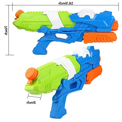 Young Choi's Gun Sand 2 Pack Water Large Water Soaker Blaster All Kids
