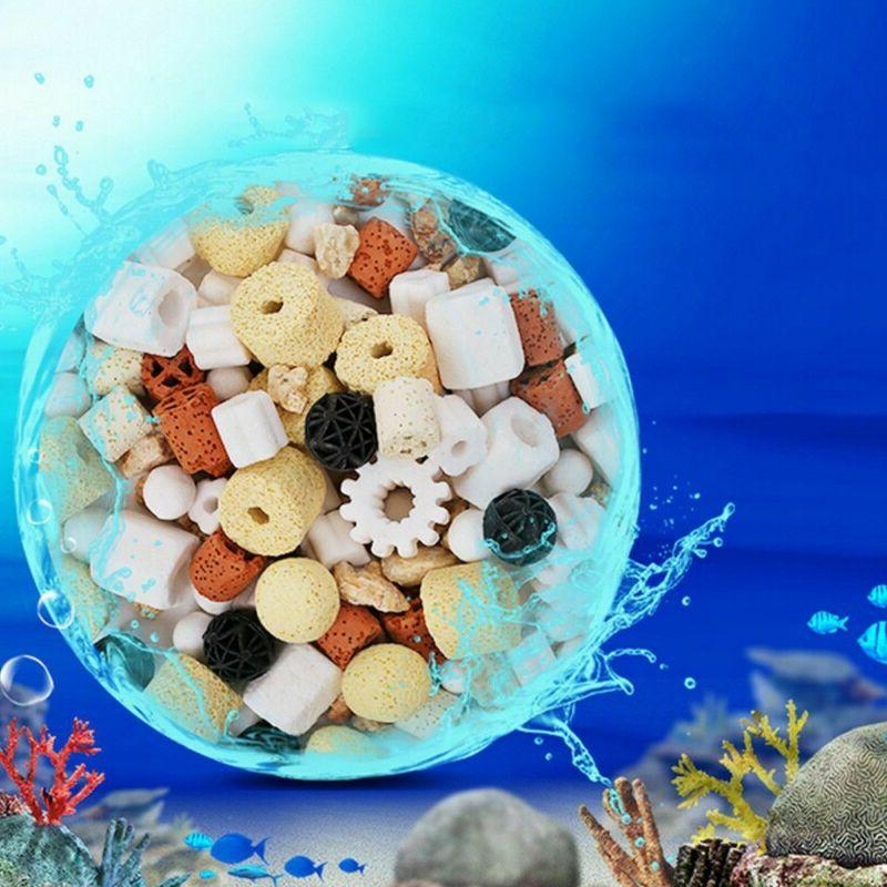 Water Aquarium Ceramic Porous Fish Tank Filter Stone